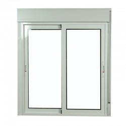 S6200 ventana corredera de aluminio con persiana monoblock for Ventanas de aluminio baratas online