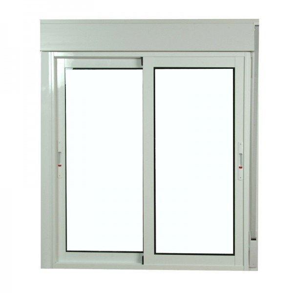 S6200 ventana corredera de aluminio con persiana monoblock for Correderas de aluminio precios