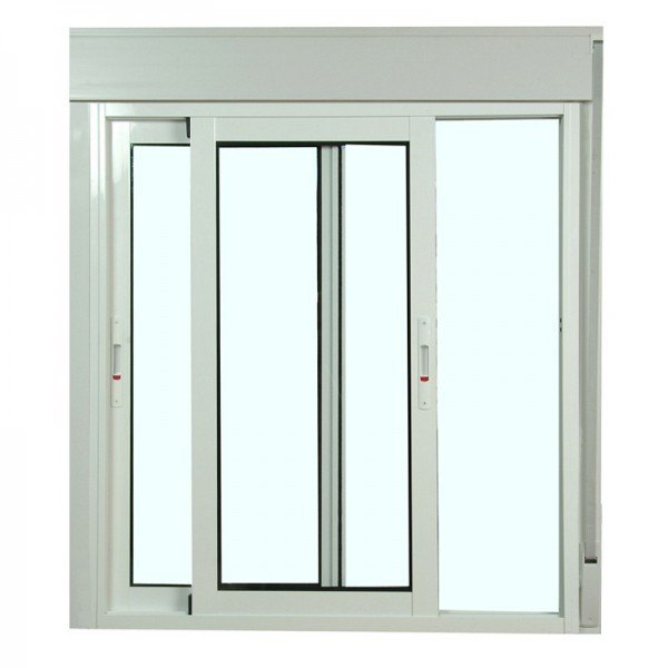 Precio doble ventana corredera materiales de for Ventanales elevables