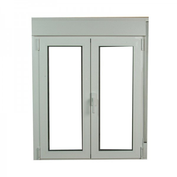 S2300 ventana oscilo batiente de aluminio con persianas for Puertas monoblock precio